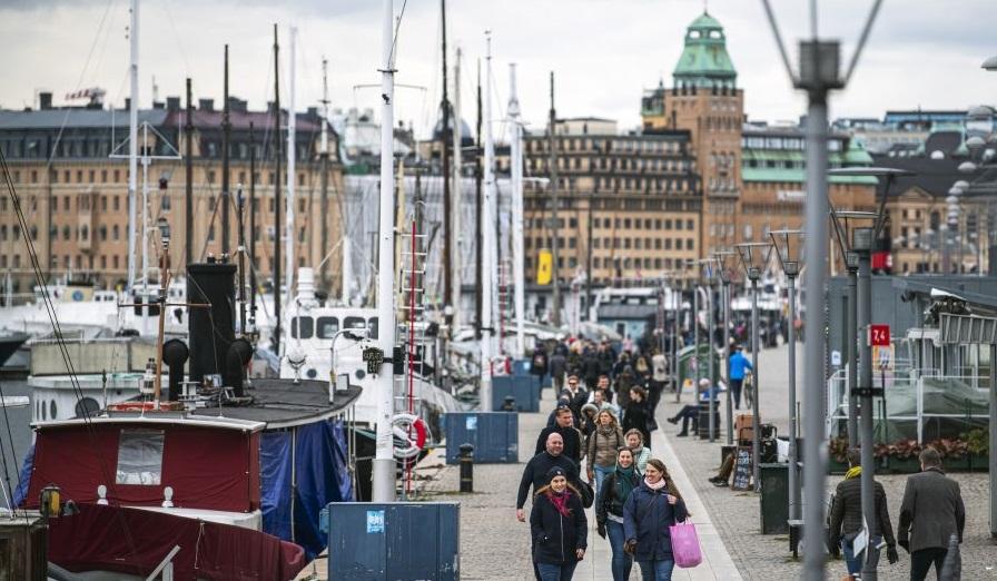 foto: Stockholm 28 martie 2020